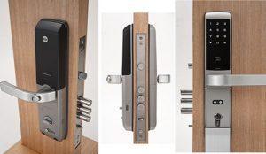 قفل دیجیتال ییل YDM3168 (قفل رمزی و کارتی)