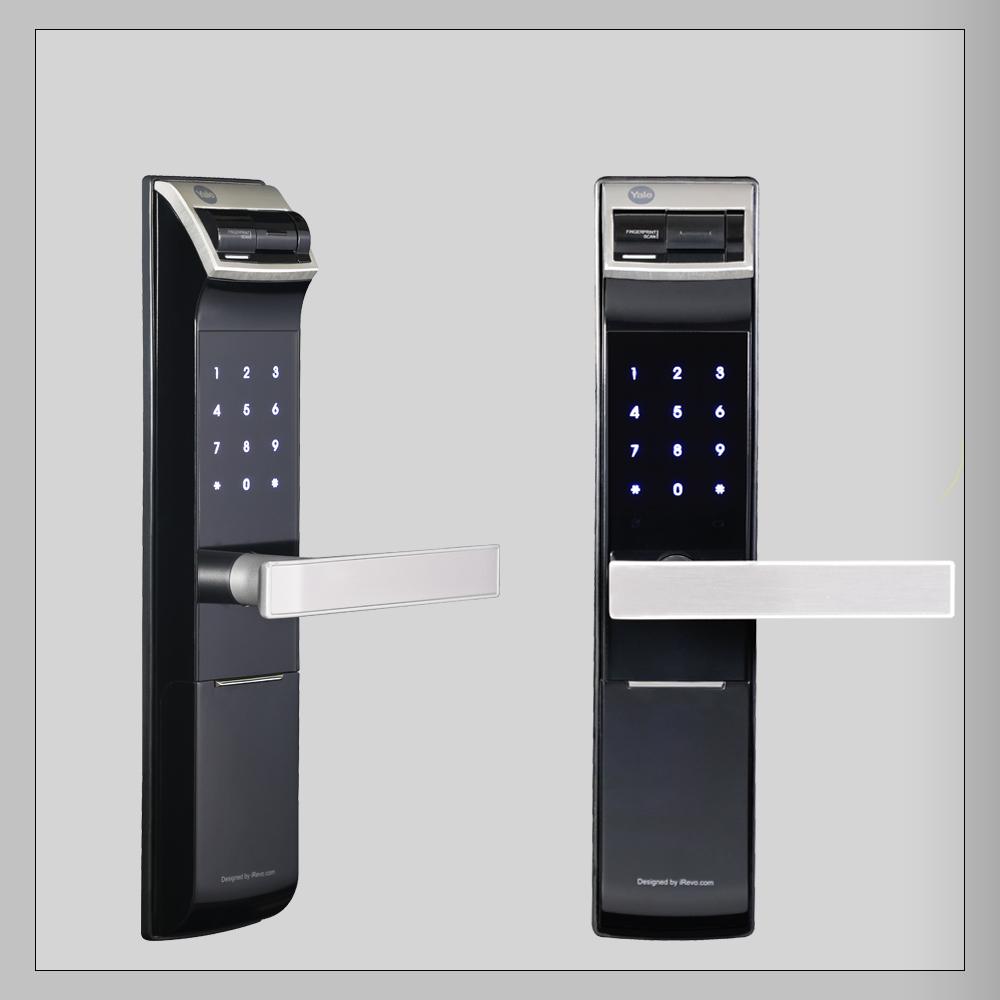 قفل درب رمزی و اثرانگشتی YDM4109 یال