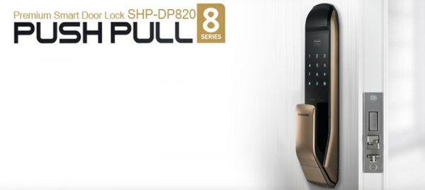 قفل دیجیتال PULL-PUSH سامسونگ SHP-DP820 | قفل پول و پوش سامسونگ