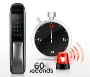 قفل الکترونیکی هوشمند رمزی و کارتی سامسونگ SHP-DP720