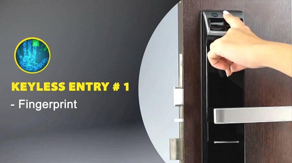 Biometric-fingerprint-digital-door-lock