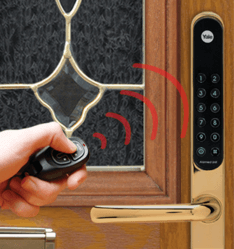 electronic-door-lock-remote-control