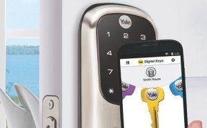 قفل دیجیتال درب بدون کلید انتخابی مناسب برای خانه شما