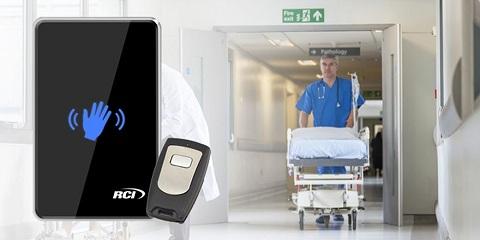 کنترل دسترسی و ورود و خروج توسط کارت در بیمارستان ها