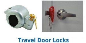 قفل امنیتی قابل حمل مسافرتی برای سفر در ایام تعطیل