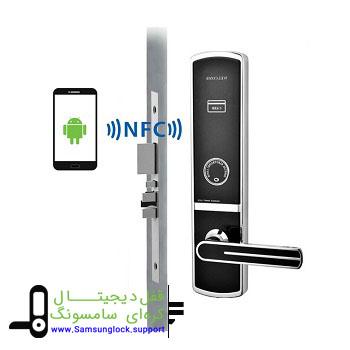 تراشه های NFC در گوشی های هوشمند برای باز نمودن درب