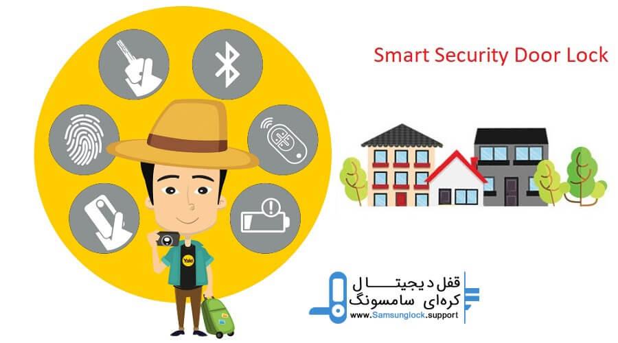 مقایسه مدل های مختلف دستگیره امنیتی هوشمند بر اساس نوع دسترسی (قسمت اول)