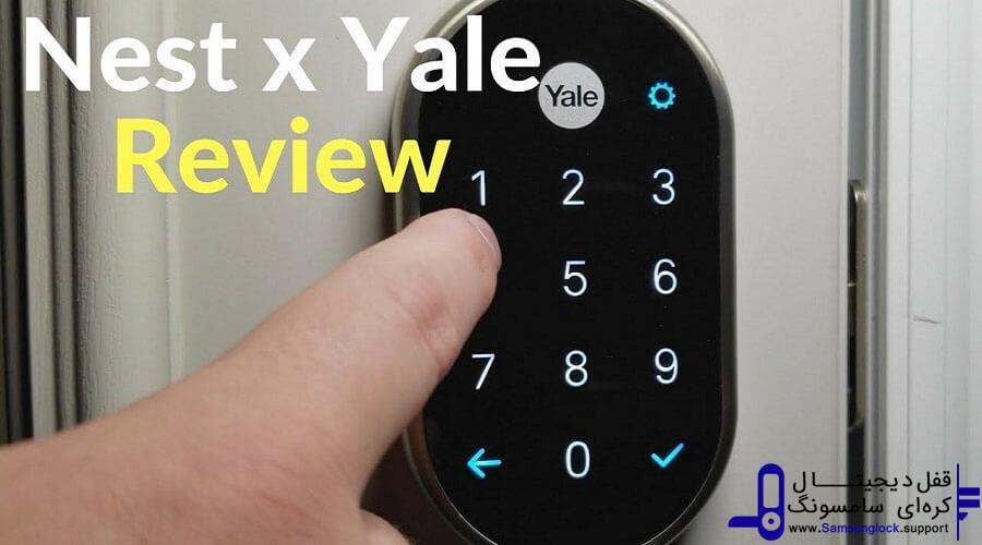 قفل درب الکترونیکی YALE NEST X