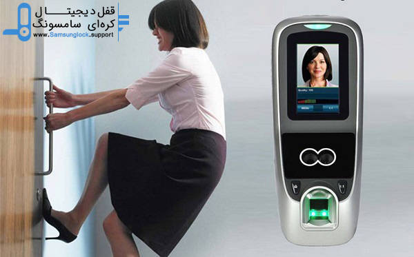 قفل دیجیتال بیومتریک با امکان تشخیص چهره