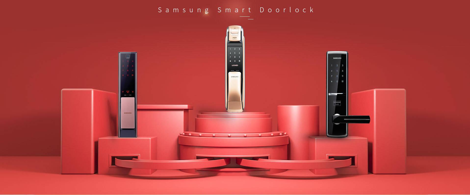 اولین و بزرگترین وارد کننده قفل دیجیتال سامسونگ در ایران