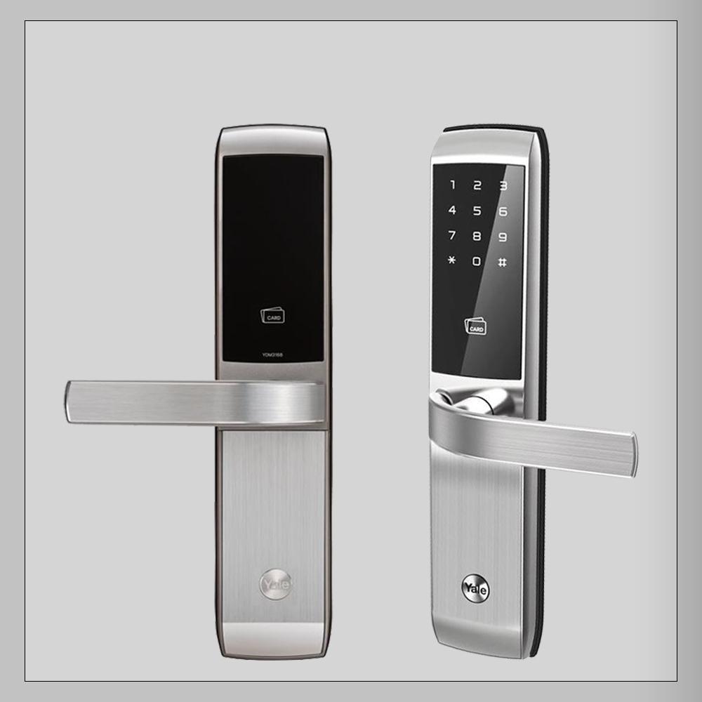 قفل دیجیتال یال مدل YDM3168 (قفل رمزی و کارتی)