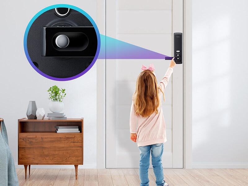قابلیت قفل کودک در قفل دیجیتال سامسونگ