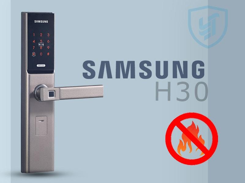 قفل دیجیتال سامسونگ h30