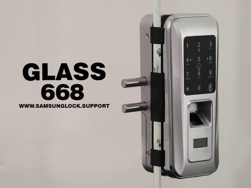 قفل روک glass 668