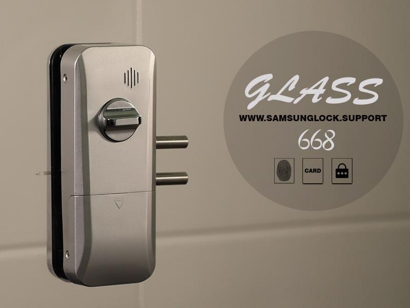 قفل شیشه سکوریت glass 668