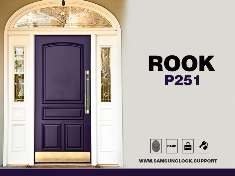 قفل rook p251