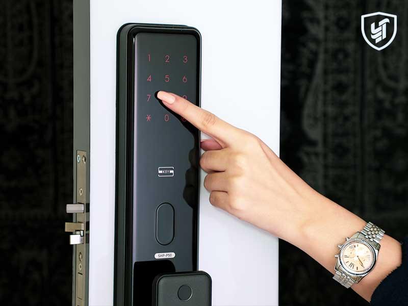 قفل رمزی p50